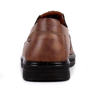 Image 4 - ファッション男性カジュアル秋の夏通気性の靴でサイズ 38 48 茶黒 chaussure オム