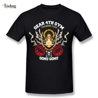 One Piece Man Luffy Gear Four 4th T Shirt Cool Streetwear Anime Tee Shirts Quality Custom