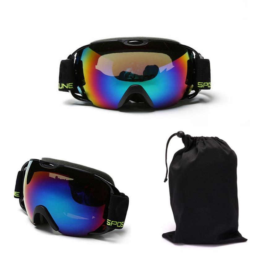 Professional upmarket ski glasses ski goggles double layers UV400 anti-fog big ski mask glasses skiing snowboard goggles box-02