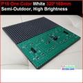320 * 160 32 * 16 hub12 monocromático melhor preço p10 branco levou módulo, P10 único painel branco, 10 mm pure white semi ao ar livre painel de led