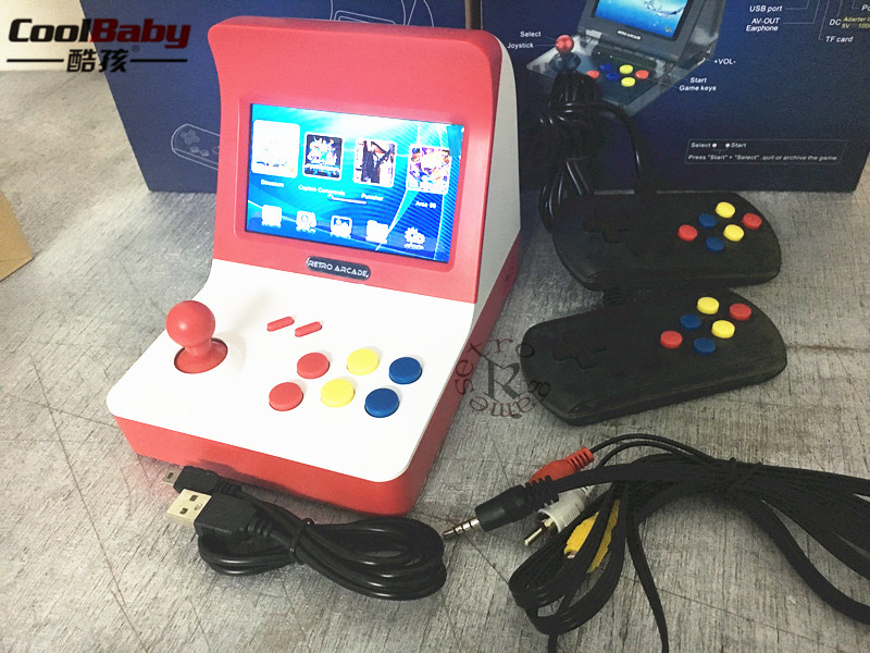Retro Arcade Video Game Console 16GB Memory 4.3