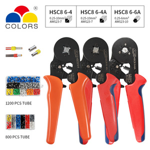 Image 5 - Adjustable Terminal Crimping Pliers Automatic Cable Wire Stripper Stripping Crimper Tool with 1200 Terminals Kit