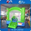 Boa qualidade 0.55mm encerado do pvc 2.5x2.5x2 m altura bebê bouncer inflável, bouncer inflável do salto, casa do salto inflável