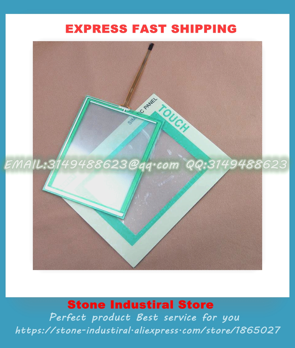TOUCH PANEL Glass + Protective Film for 6inch TP177A TP177A TP177B 6AV6642-0AA11-0AX1 HMI Panel High-quality  цены