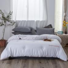 Blancstar Winter Silk Quilt 100% Cotton Comforter Cover Pink Duvet Filling Blanket