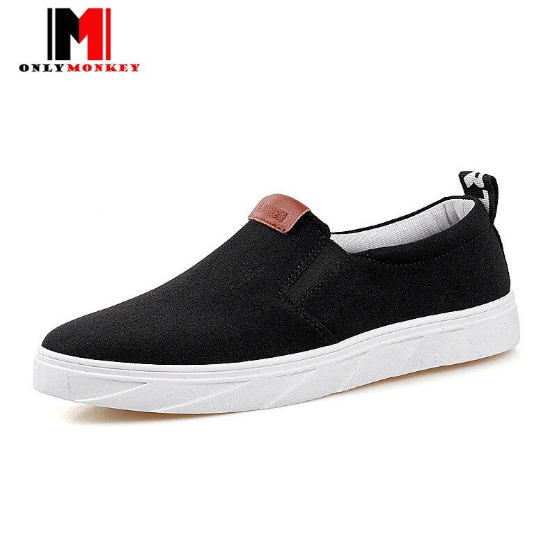 ONLYMONKEY superstar verano hombres antideslizantes zapatos Planos de los hombre