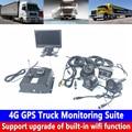 ตำแหน่ง + Remote HD Audio Video AHD960P/720 P 4G GPS รถบรรทุกการตรวจสอบชุดรถแท็กซี่/รถขนาดเล็ก /Fire รถบรรทุก/รถบัส