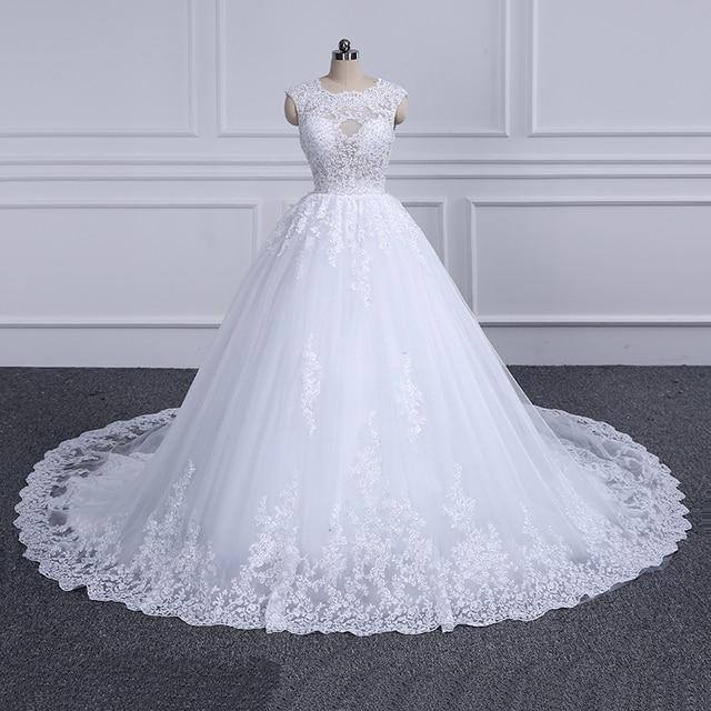 Ball Gown Vestido De Novia Wedding Dress 2018 Appliques with Beading ...