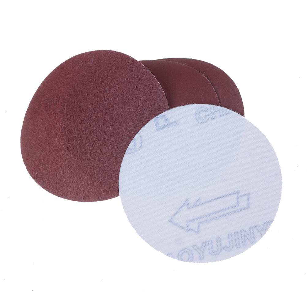 10pcs/set 3inch Round Sandpaper Abrasive Sand Sheets Grit 80 240 400 600 800  Hook&loop Sanding Disc For Sander Grits