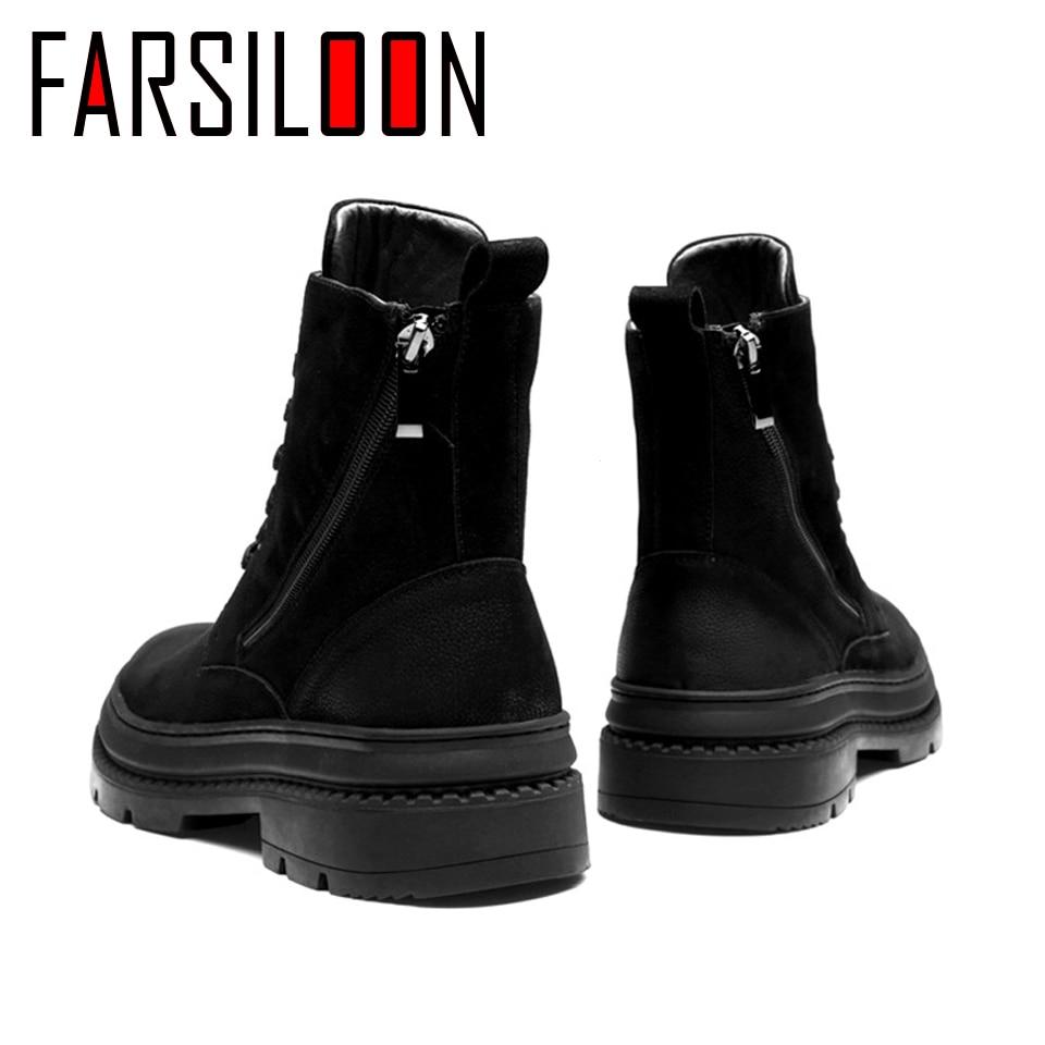 Мужские зимние ботинки martin из вельвета в английском стиле, повседневные удобные мягкие ботинки, мужские рабочие кроссовки, трендовая обувь ... - 3