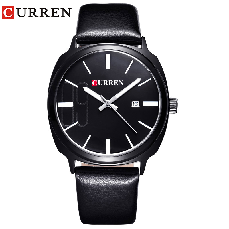 Curren 2017 Mens Watches Top Brand Luxury Men's Sports Quartz Wristwatches Relogio Masculino Men Curren Watches 8212 curren m8113