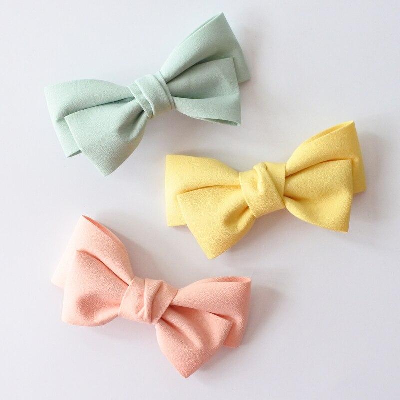 Сплошной Цвет Бутик Заколки Для Волос - Аксессуары для одежды - Фотография 4