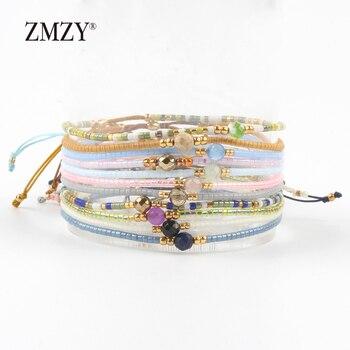 ZMZY Miyuki Delica Seed Beads Women Bracelets Friendship Jewelry Fashion Diy Bijoux 1