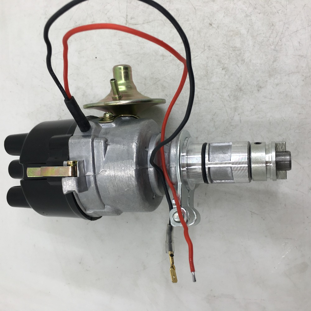 SherryBerg New HS45D4 4 cylinder Electronic Distributor Replaces Lucas 45D 48D 54D Dist
