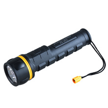 JUJINGYANG new advanced 7LED  torch light shockproof daily flashlight NO.1 batteries