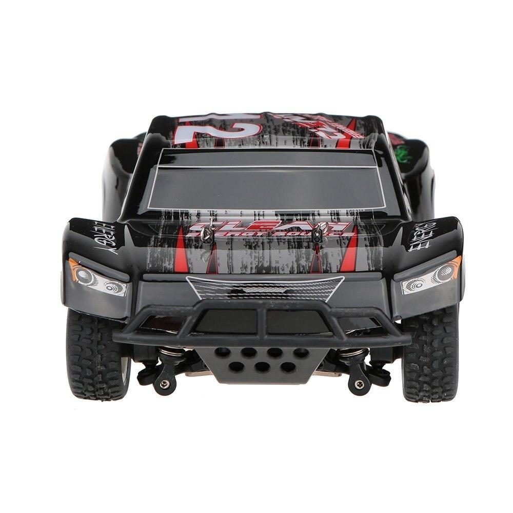 Mais novo A232 1/24 2.4g Escovado 4WD Curso De Curta Duração Elétrica RTR RC Carro Off road De Buggy RC Carro de Drift brinquedos para as crianças vs A979 L202 - 5