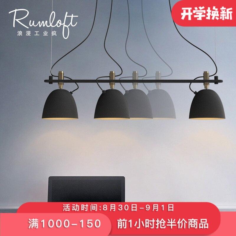 Suspension industrielle vintage noire nordique rétro lumières abat-jour en fer loft edison lampe cage en métal salle à manger campagne