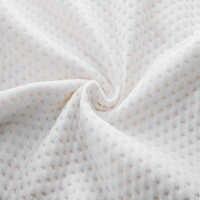 YRHCD air couche tissu taies d'oreiller lentement mémoire taies d'oreiller dormir literie taie d'oreiller seulement 60x34x12 cm