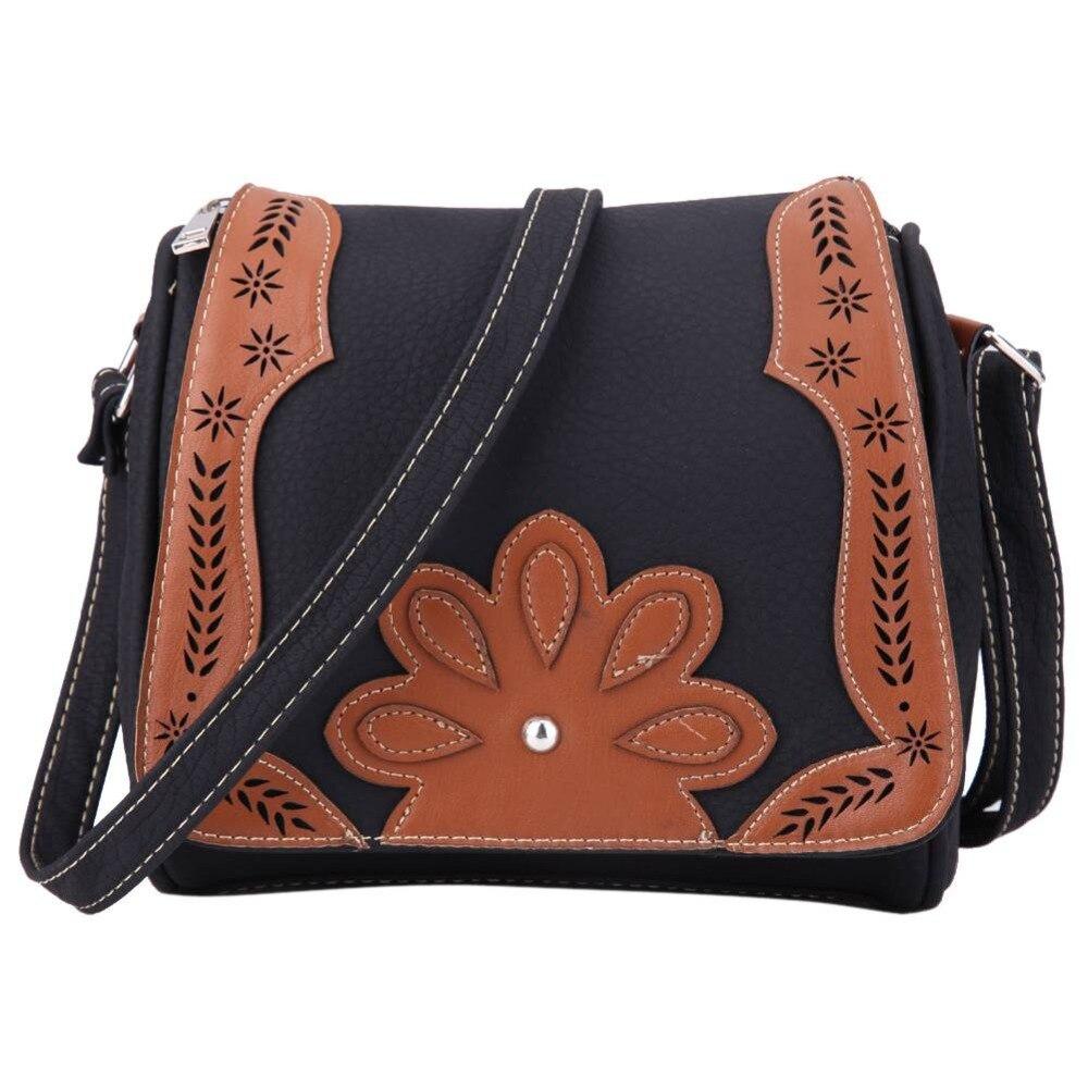 2017 Fashion Women Messenger Bags PU Leather Retro Crossbody Shoulder Bags Small Ladies Designer Handbags High Quality