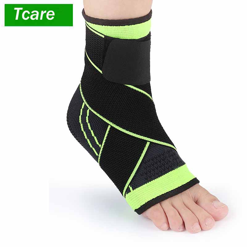 Professional Elastic Ankle Brace Foot Guard Compression Support Sleeve for Basketball Volleyball Soccer Ankle Brace Support Football and Baseball