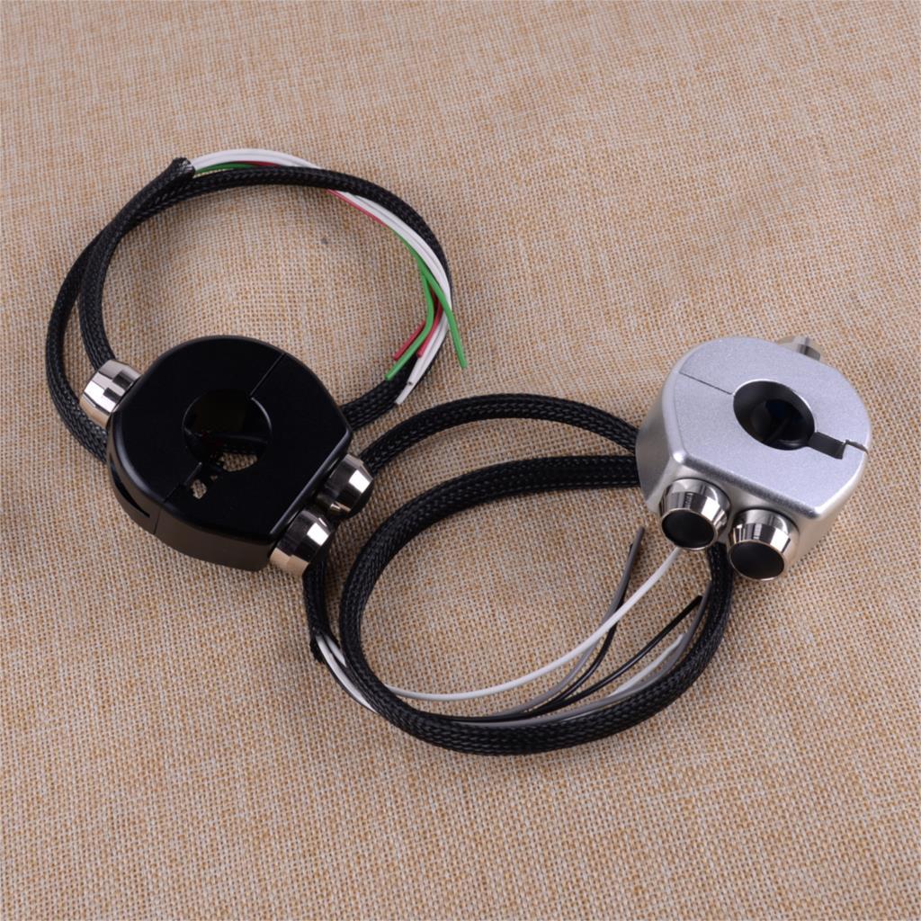 Nouveau moto en alliage d'aluminium café coureurs personnalisé guidon bouton loquet interrupteur pour 12 V batterie motos moto Scooter