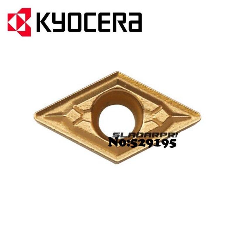 Kyocera DCMT11T302-GK DCMT11T304-GK DCMT11T308-GK CA5515 CA5525 DCMT 11T302 11T304 11T308 фреза для токарного станка с ЧПУ Инструменты вставки карбида
