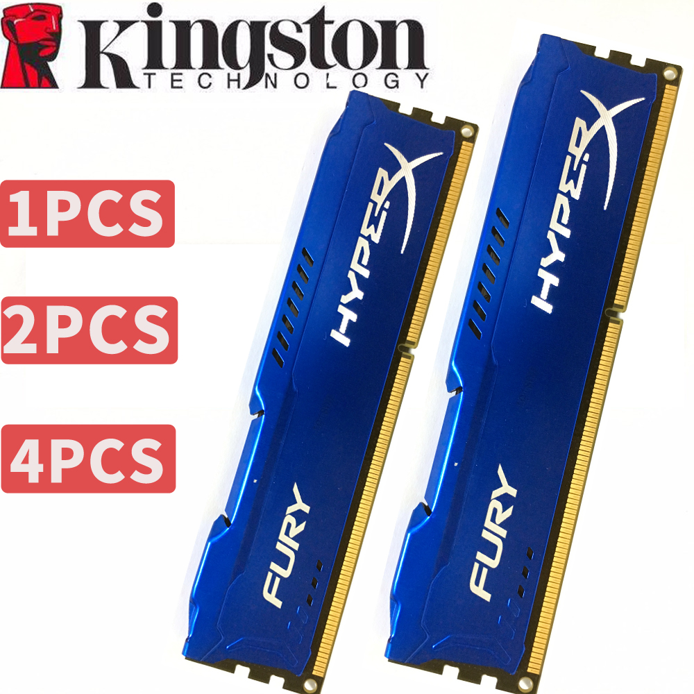 Kingston HyperX PC Memoria RAM Memoria para computadora de escritorio 4 GB 4G DDR3 1600 MHz 1600 1866 MHz 1866 2X4G = 8 GB 2X8 GB = 16 GB de RAM