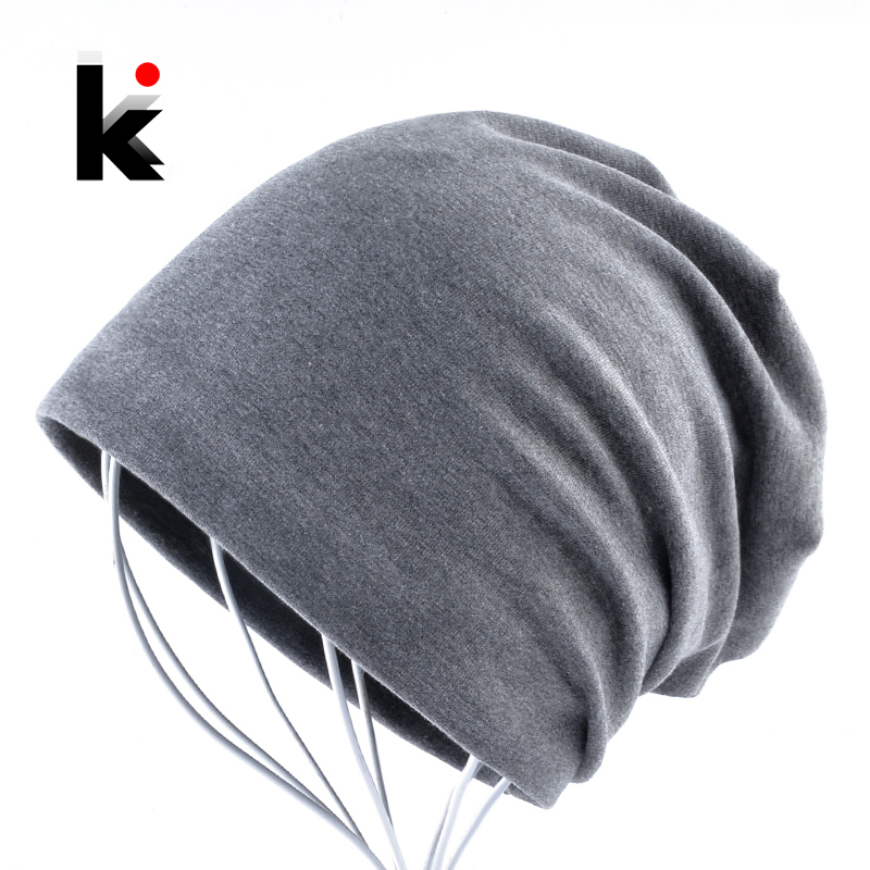 Beanies Hat Pocket Spring And Autumn Turban Cap Hip-hop Cap Turban Beanie Hats For Women And Man