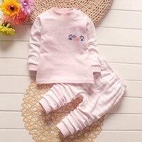 Winter Baby Unisex Underwear Kid Thermal Underwear Baby Boy Girl Long Johns Kids Cotton Autumn Winter