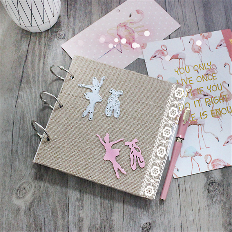 Ballet Metal Die Cutting Scrapbooking Embossing Dies Cut Stencils Decorative Cards DIY album Card Paper Card Maker baby metal die cutting scrapbooking embossing dies cut stencils decorative cards diy album card paper card maker