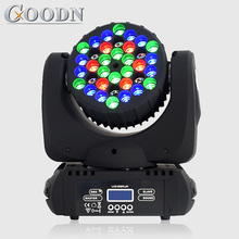 Lyre 36X3W RGBW LED Beam DMX stage moving head lights for dj lyre beam 7x12w rgbw 4in1 led beam dmx stage moving head lights for dj