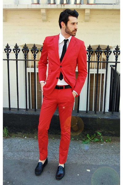 Online Get Cheap Tailored Red Men Suits -Aliexpress.com | Alibaba ...