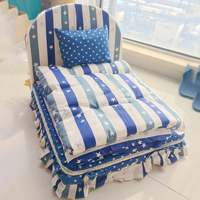 Luxus Waschbar Betten Für Tiere Hund Blau Kaffee Kissen Decke Kissen Bettwäsche-sets Für Haustiere Katzen Chihuahua Yorkie Pudel Möpse