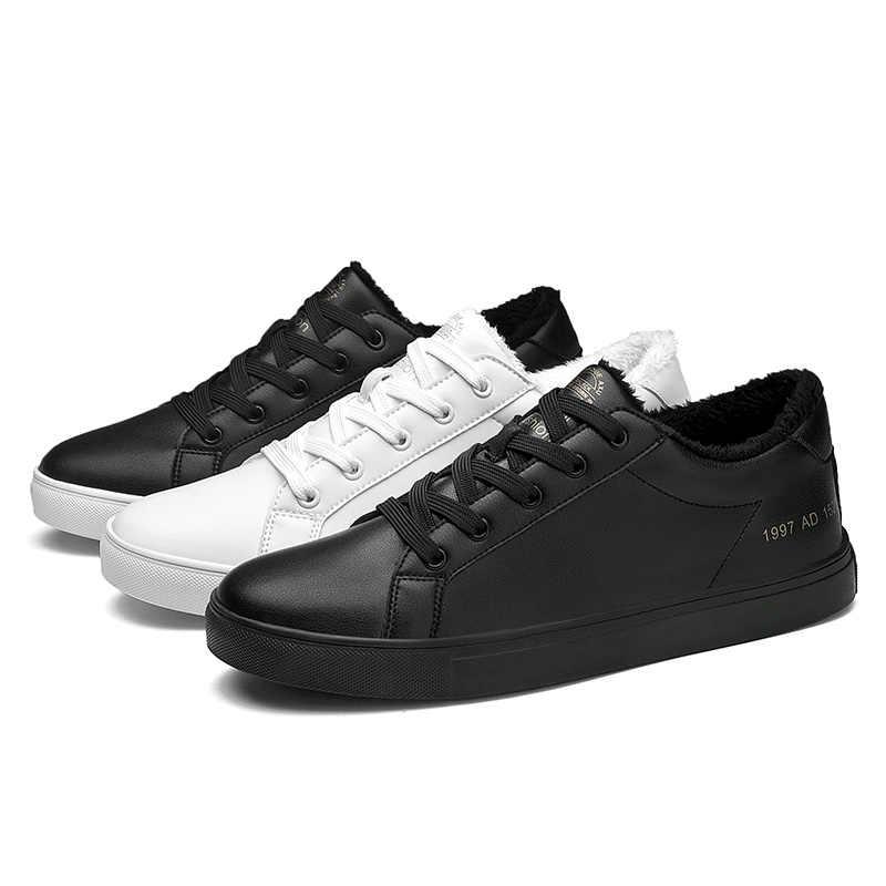 7ffe4ad6 ... SUROM/мужские кроссовки на сезон осень-зима, модная обувь из  суперфибры, кожа ...