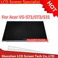 Free shipping b156xtn03.1 15.6 lcd touch screen For Acer Aspire V5-531 V5-531P V5-571 V5-571P V5-571PG MS2361 lcd assembly