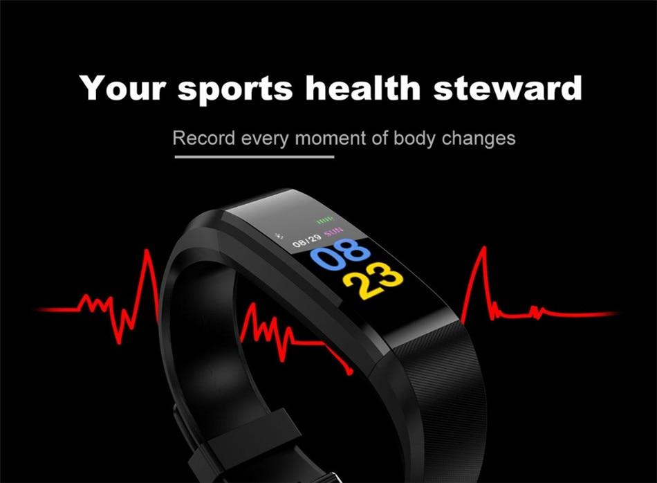 sports health kids smart watch