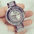 Nova chegada FamousBS Marca Women Watch Lady Completa Diamante Dress Watch Mulheres Strass relógio de Cristal Cheio Pulseira Relógio Da Pulseira