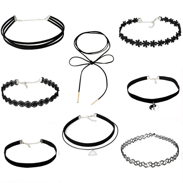 QHQ chokers choker necklace chain fashion female boho jewelry accessories jewellery collar ethnic gifts for women feminino