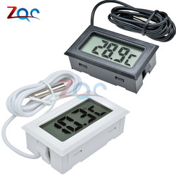 Mini Digital LCD Probe Fridge Freezer Thermometer Sensor Thermometer Thermograph For Aquarium Refrigerator Kit Chen Bar Use