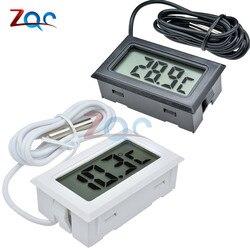 Mini Digital LCD Sonde Kühlschrank Mit Gefrierfach Thermometer Sensor Thermometer Thermograph Für Aquarium Kühlschrank Kit Chen Bar Verwenden