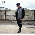 Зимняя Куртка Мужчины 2016 Бренд Хлопок Смесь Пальто