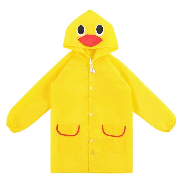 1 PC Bambini del Cappotto di Pioggia Dei Bambini Impermeabile Antipioggia/Rainsu