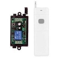 3000M Long Range DC12V 24V 1 CH 1CH RF Wireless Remote Control Switch System 315 433