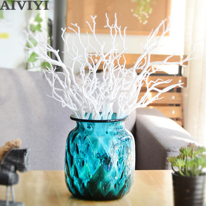 Dark witch tree forked artificial flower antlers dry branch decoration home wedding decoration <font><b>fllower</b></font> image