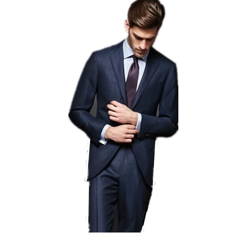 100% Kwaliteit Nieuwe/prachtige Nieuwste Ontwerp Gentleman Suits High-end Custom Bruidegom Suits Mannen Bruiloft Kledingstuk Past Vereiste ( Jas + Broek + Tie) We Nemen Klanten Als Onze Goden