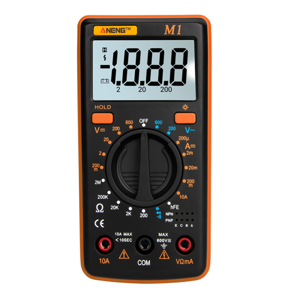 Multimetro Medidor de Esr Tester Rms Verdadeiro Multímetro Digital Richmeters 400a Dmm Multímetro Digital