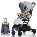 Baby wagen kinderwagen leichte, Tragbare reisen kinderwagen baby kinderwagen kann auf die flugzeug