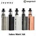 Kanger original subox mini-c starter kit 50 w mod 3 ml 0.5ohm ssocc protank 5 atomizador cigarrillo electrónico vaporizador kangertech