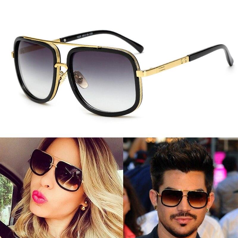 2019 LVVKEE Brand Designer Large Frame Sunglasses Men Vintage Women Sun Glasses Retro Grandmaster Square Eyewear UV400