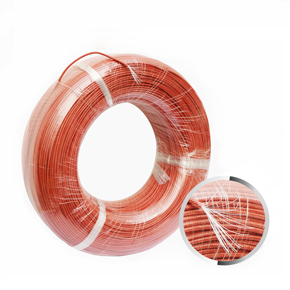 50meters 20AWG UL1332 AWM Silicone Braided Wire Teflon Wire High ...